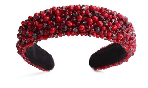 Red Wide Headband