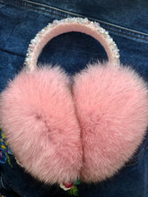 Load image into Gallery viewer, Pink Arctic Fox Earmuffs