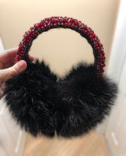 Load image into Gallery viewer, Wine Coloured Earmuffs