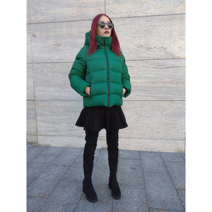 Green Short Winter Jacket