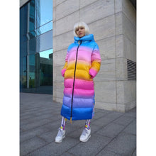 Load image into Gallery viewer, Rainbow Winter Jacket
