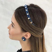 Load image into Gallery viewer, Thin Swarovski Headbands