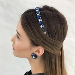 Thin Swarovski Headbands