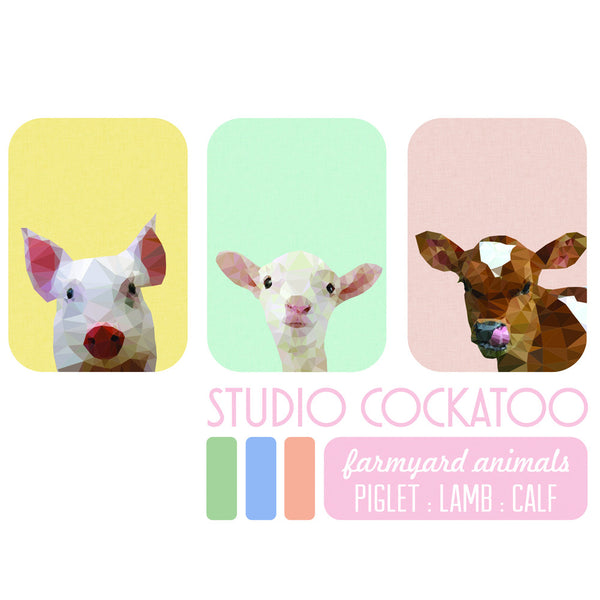 farmyard animals gift pack
