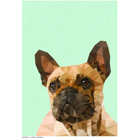 frenchie #2 art print