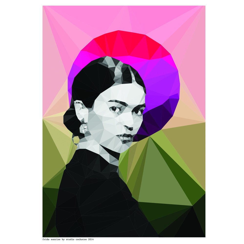 frida sunrise art print