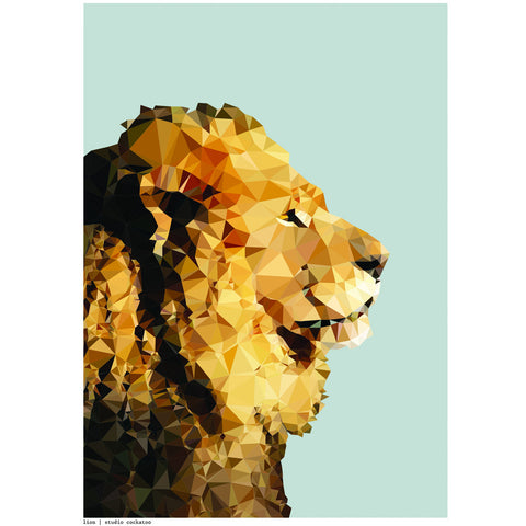 lion or lioness art print
