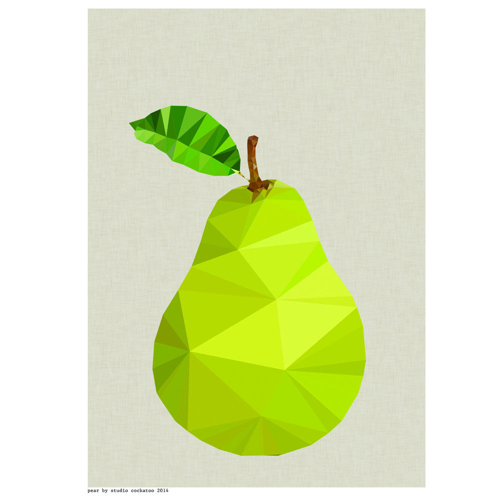 Pear Painting on Canvas Board by creativedriven on Etsy | Create ...