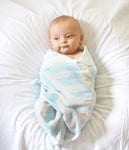 LOVE Swaddle™, Blue & White