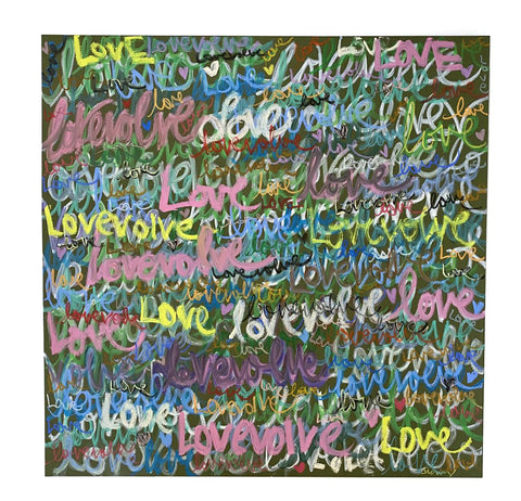 Graffiti LOVEvolving - OLIVE