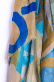 Cashmere LOVE Scarf: Large Blues
