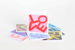 LOVE Note Cards: 10 Pack with Envelopes
