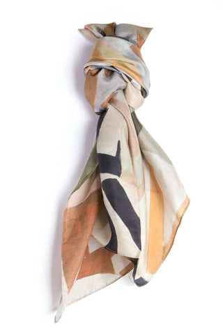 LOVEVOLVE® Scarf: Neutrals, Silk