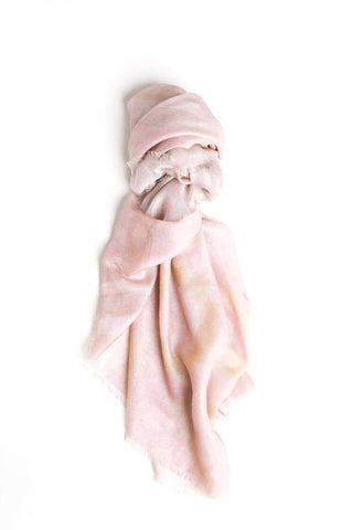 LOVEVOLVE® Scarf: Dusty Pink, Cashmere/Modal Small