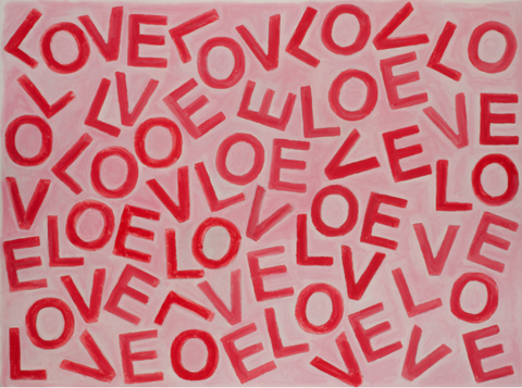 LOVEVOLVE® Print: Pink & Red