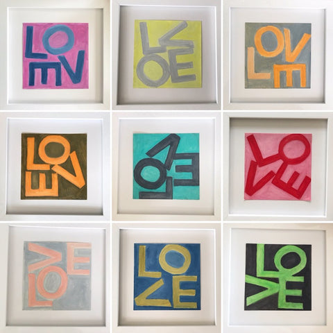 LOVE Square © Print (More Colors Available)