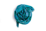 LOVEVOLVE® Scarf: Greens, Cotton/Linen/Modal