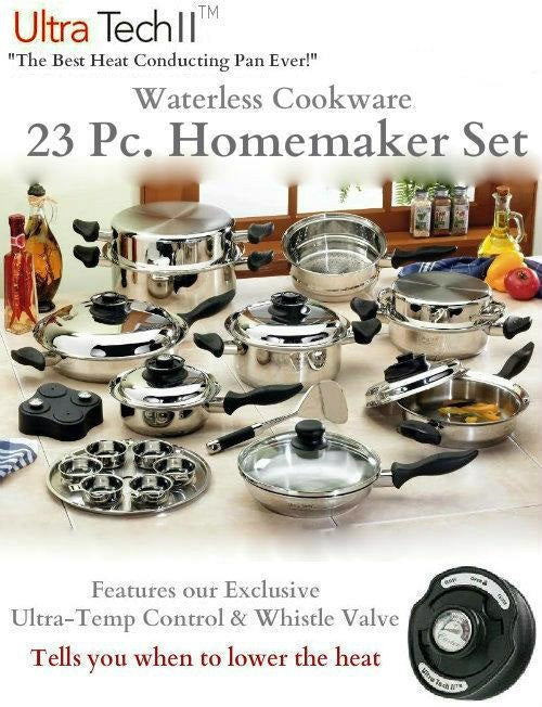 Ultra-Tech II 316ti 9ply 23 Pc. Homemaker Set