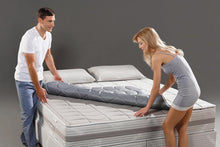Load image into Gallery viewer, Ultra-Tech Silver Collection removable Grounding Mattress Toppers
