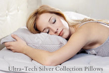 Load image into Gallery viewer, Patented Memo-Temp Silver Ion Hypoallergenic Adjustable Pillow