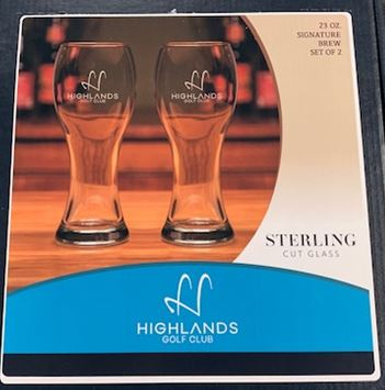 Highlands 23oz Signature Brew Glass (Set of 2)