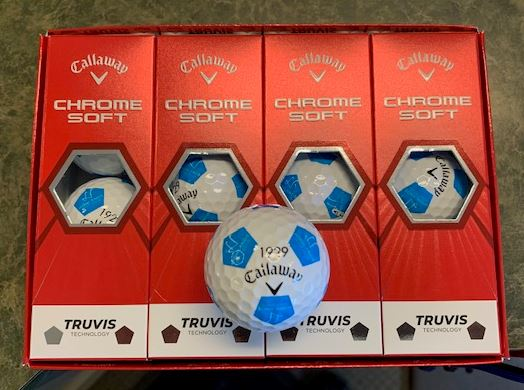 Highlands Callaway Truvis Chrome Soft Golf Ball