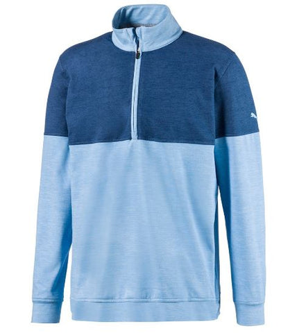 PUMA Cloudspun Warm Up Highlands Logo 1/4 Zip (3 Colors)