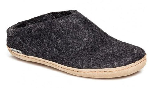 Glerups Charcoal Slipper