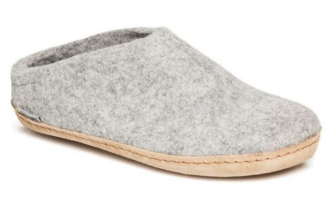 Glerups Grey Slipper