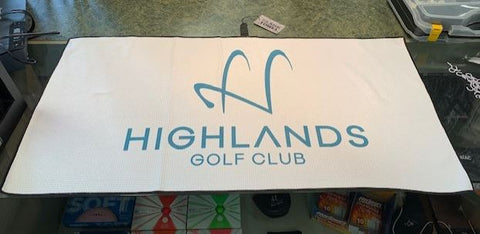 Highlands Logo Player Towel
