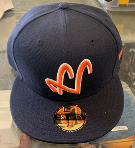 Highlands New Era 59FIFTY Blue/Orange Hat