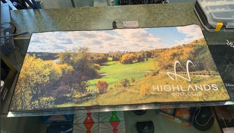 Highlands Image Player Towel