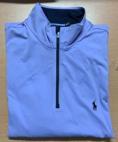 Ralph Lauren 1/2 Zip Purple Pullover