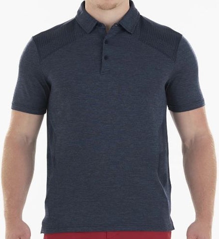 Highlands Sligo Lennon Navy Polo