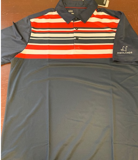 Highlands Sligo Bentley Navy Polo