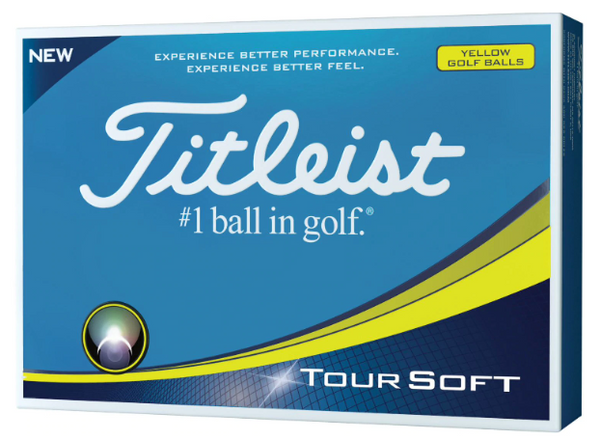 Titleist Tour Soft Golf Balls (2 Options)