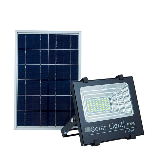 Solar Flood Light 100W - Battery included - EverBrite