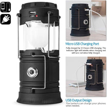 Load image into Gallery viewer, 3-1 Solar Lantern Emergency Light - EverBrite