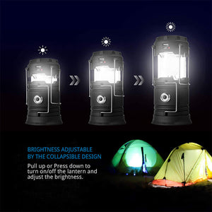3-1 Solar Lantern Emergency Light - EverBrite