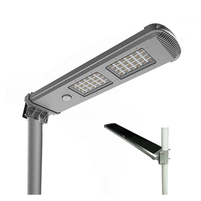 Solar Street Light 80W Solar Panel Integrated - EverBrite