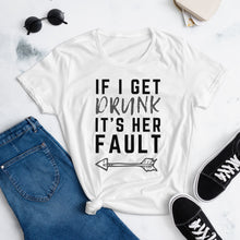 Load image into Gallery viewer, It's Her Fault #1 - Women's Shirt