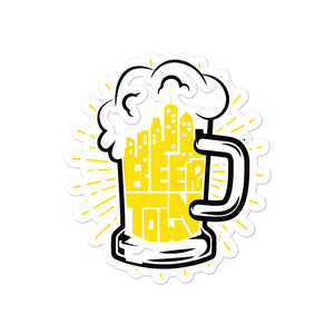 Beertown Mug - Bubble-free stickers