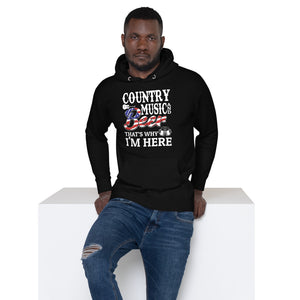 Country Music & Beer - Hoodie