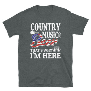 Country Music & Beer - Unisex Shirt