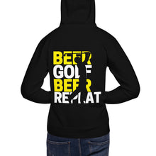 Load image into Gallery viewer, Beer, Golf, Repeat - Unisex Hoodie