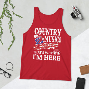 Country Music & Beer - Tank