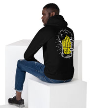 Load image into Gallery viewer, Drink Beertown - Yellow Mug Unisex Hoodie