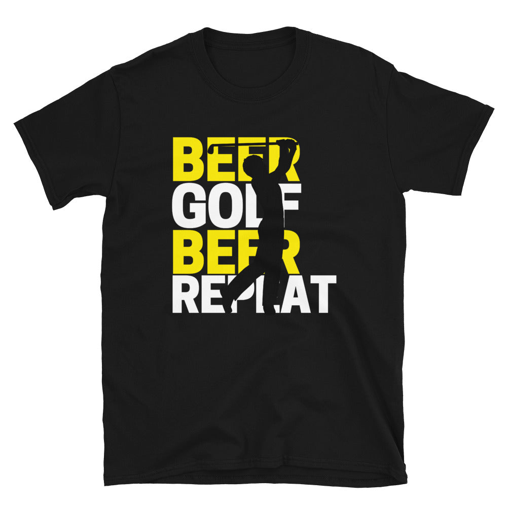 Beer, Golf, Repeat - Unisex Shirt