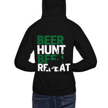 Load image into Gallery viewer, Beer, Hunt, Repeat - Unisex Hoodie