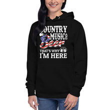 Load image into Gallery viewer, Country Music & Beer - Hoodie